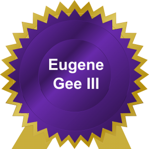 purp-gold gift Gene Gee